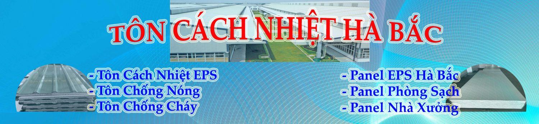 Tôn cách nhiệt Hà Bắc - Cung cấp Tôn Cách Nhiệt, Vách ngăn cách nhiệt tại Bình Dương, Đồng Nai, Thành Phố Hồ Chí Minh